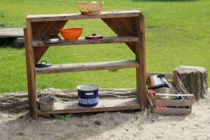 "Mud kitchen at ""Leonardo"", Gütersloh"